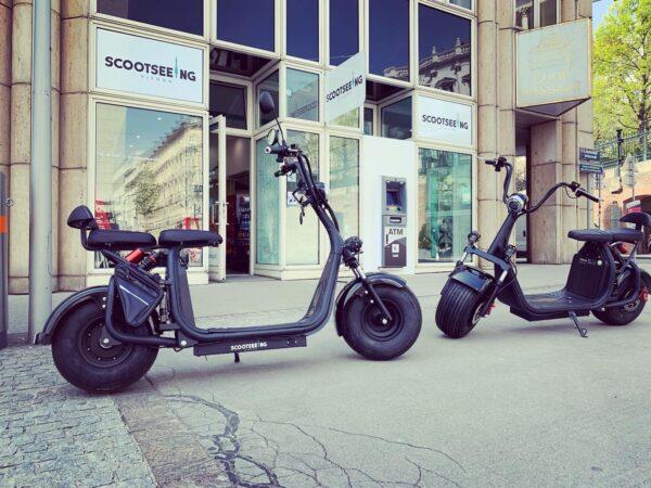 Der Neue City-Scooter 500 II